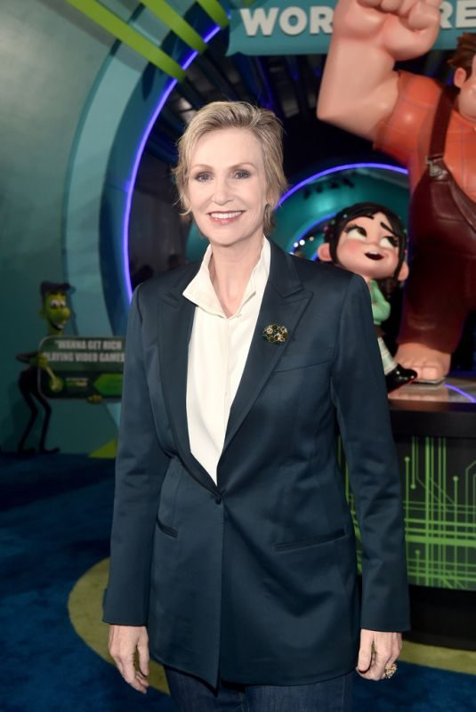JANE LYNCH at Ralph Breaks the Internet Premiere in Hollywood 11/05/2018