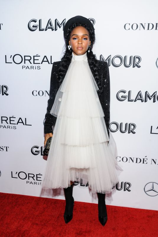 JANELLE MONAE at Glamour Women of the Year Summit: Women Rise in New York 11/11/2018