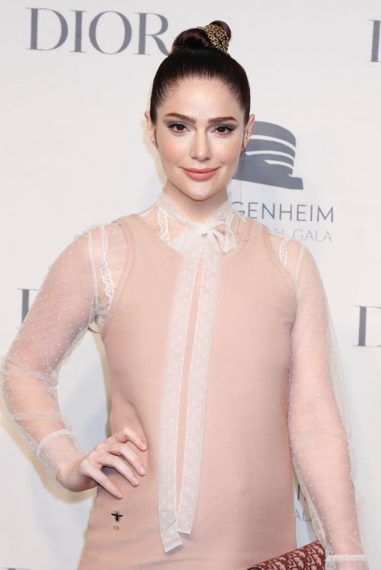 JANET MONTGOMERY at Guggenheim International Gala Pre-party in New York 11/14/2018