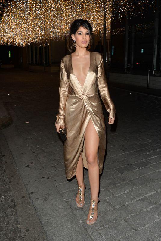 JASMIN WALIA Leaves Berkeley Hotel in London 11/06/2018