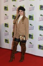 JAZMINE FRANKS at Hits Radio Live in Manchester 11/25/2018