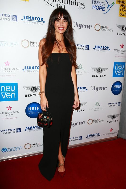 JENNIFER METCALFE at The Move Mountains Ball in Manchester 11/10/2018