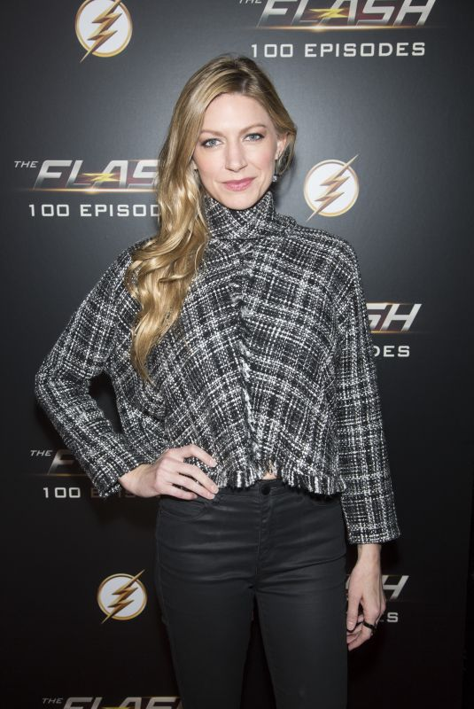 JES MACALLAN at The Flash 100th Episode Celebration in Los Angeles 11/19/2018