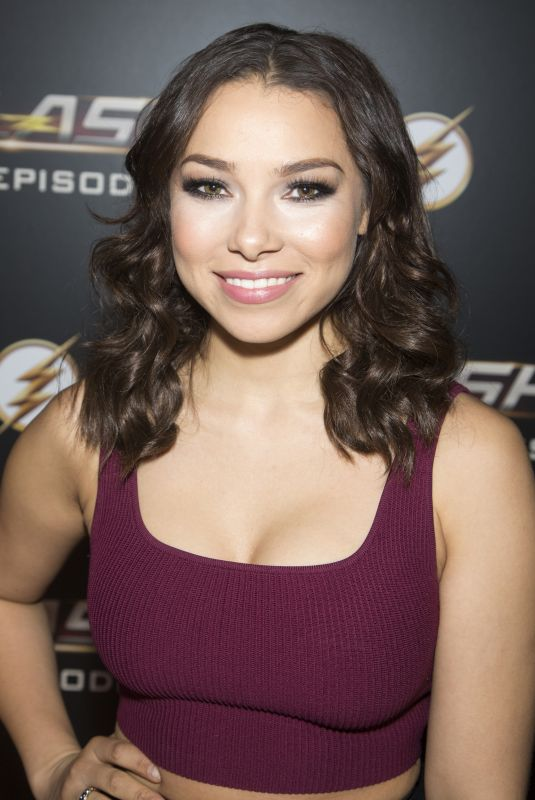 JESSICA PARKER KENNEDY at The Flash 100th Episode Celebration in Los Angeles 11/19/2018