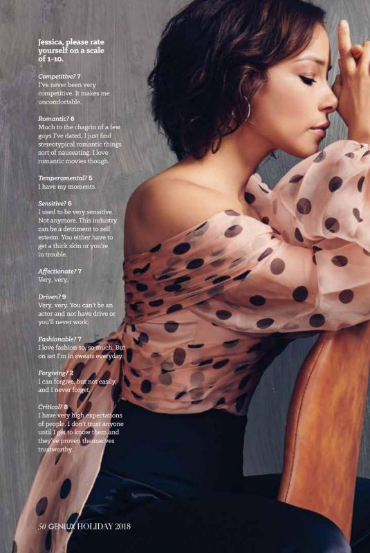 JESSICA PARKER KENNEDY in Genlux Magazine, Holiday 2018 Issue