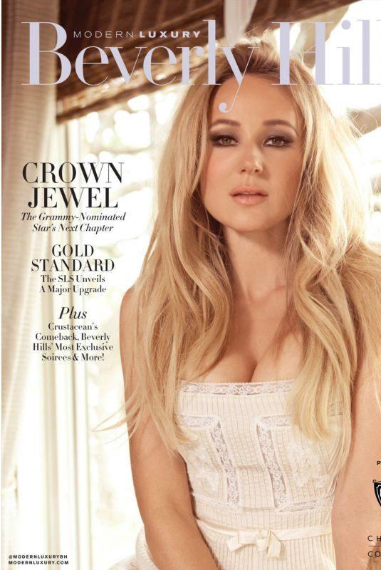 JEWEL KILCHER in Beverly Hills Magazine, Fall/Winter 2018/2019