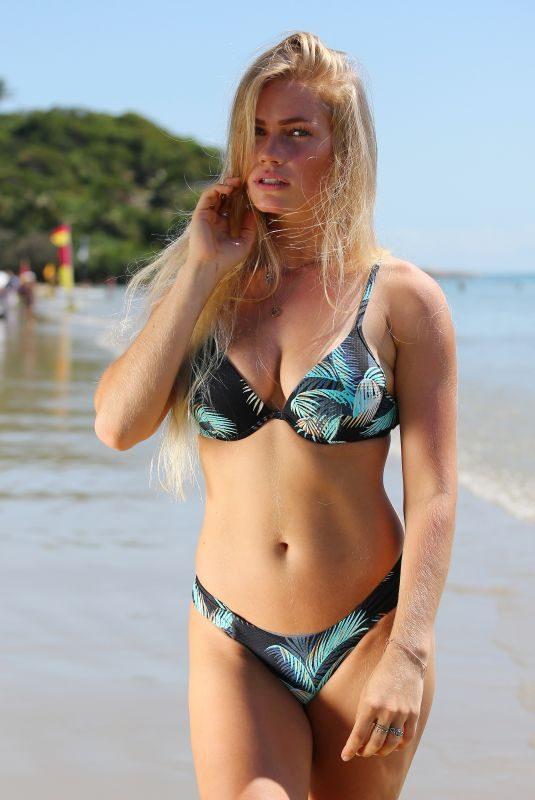 JO ORTHEY in Bikini at a Beach in Queensland 11/02/2018