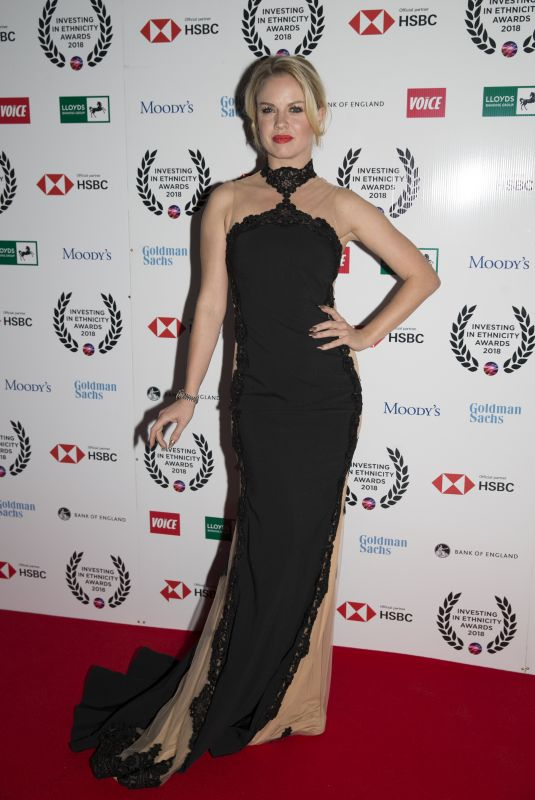 JOANNE CLIFTON at Investing in Ethnicity Awards in London 11/01/2018