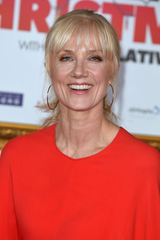 JOELY RICHARDSON at Surviving Christmas with the Relatives Premeire in London 11/21/2018
