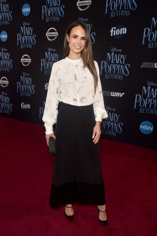 JORDANA BREWSTER at Mary Poppins Returns Premiere in Hollywood 11/29/2018