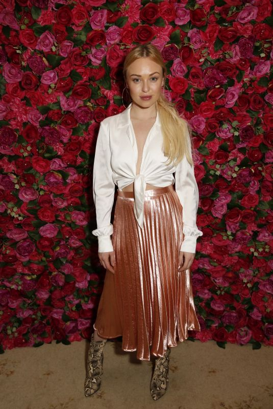 JORGIE PORTER at Pink Ribbon Foundation Ladies Lunch in London 11/28/2018