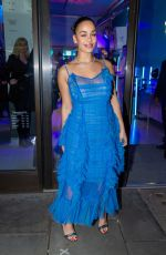 JORJA SMITH at Tiffany & Co. Concept Store in London 11/08/2018
