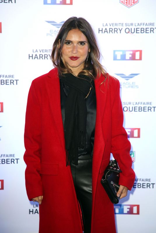 JOYCE JONATHAN at Truth About the Harry Quebert Affair Premiere in Paris 11/12/2018