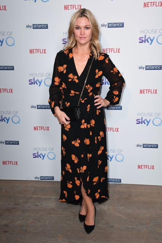 JULIA STILES at SkyQ Party at Vinyl Factory in London 11/15/2018