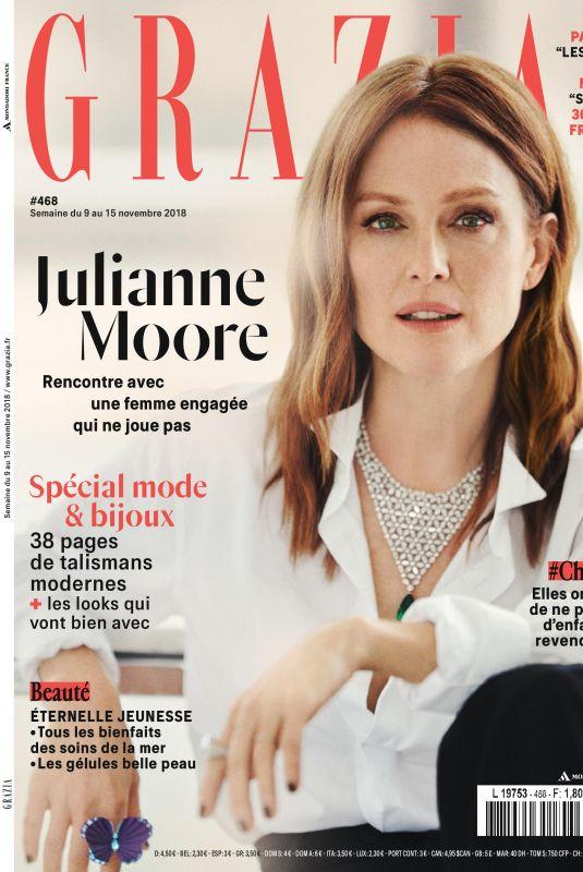 JULIANNE MOORE in Grazia Magazine, November 2018 Issue