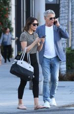 KATHARINE MCPHEE and David Foster Out in Beverly Hills 11/12/2018