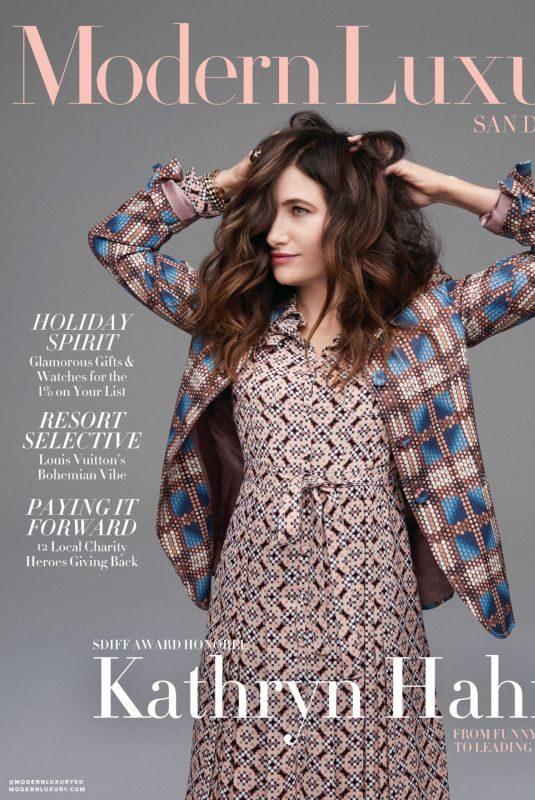 KATHRYN HAHN in Modern Luxury Magazine, November 2018