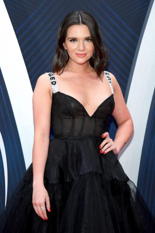KATIE STEVENS at 2018 CMA Awards in Nashville 11/14/2018