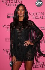 LAIS RIBEIRO at VS Fashion Show Afterparty in New York 11/07/2018