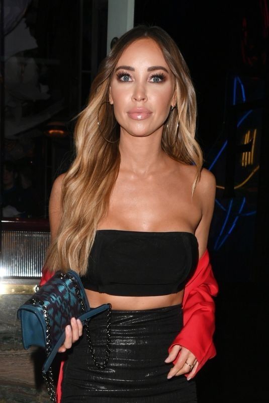 LAUREN POPE Leaves Sexy Fish Restaurant in London 11/22/2018