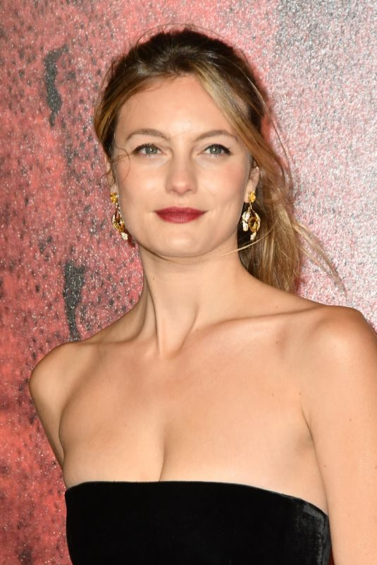 LEILA GEORGE at Mortal Engines Premiere in London 11/27/2018