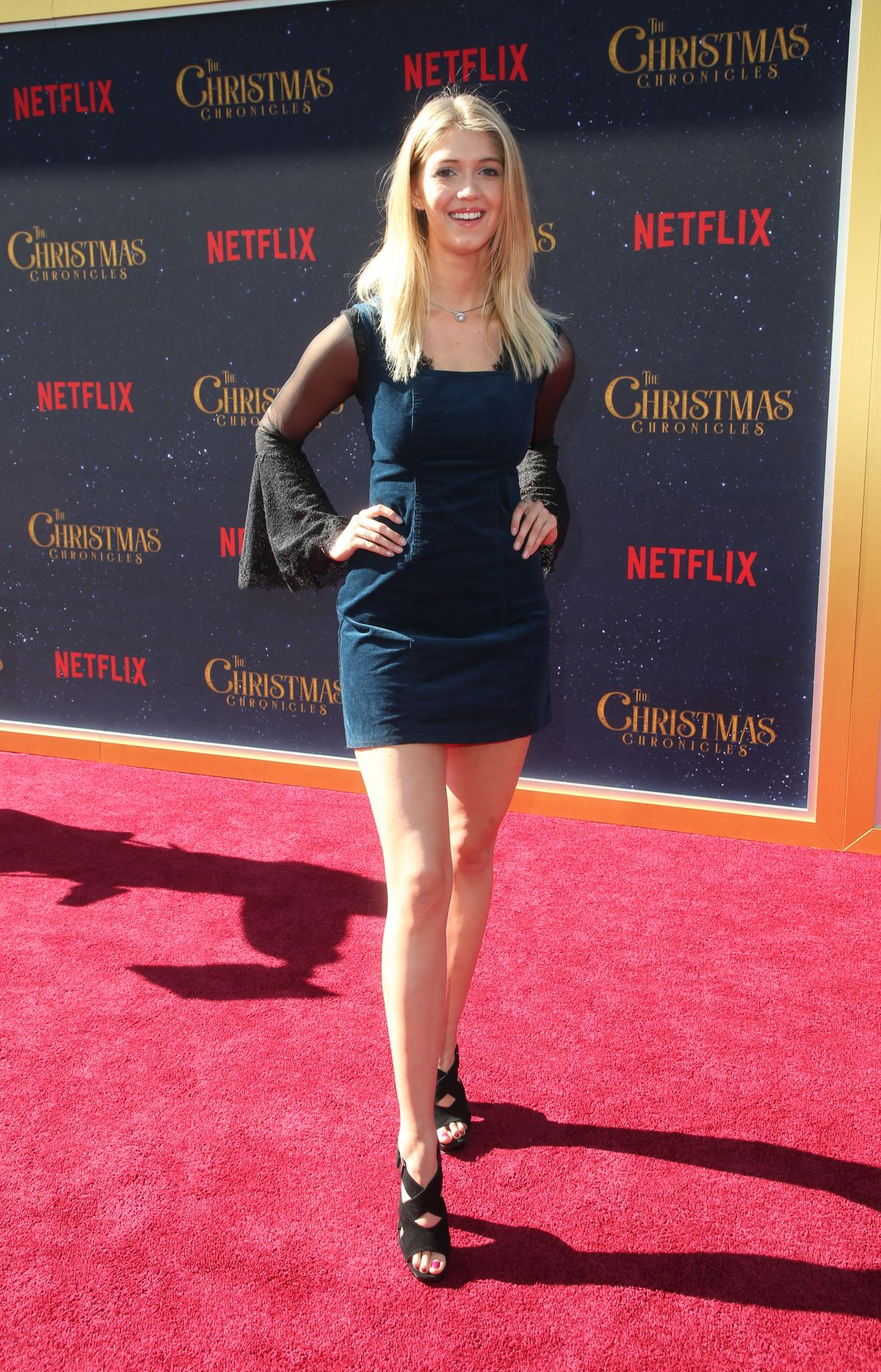 The Christmas Chronicles 2.Lexi Dibenedetto At The Christmas Chronicles Premiere In Los