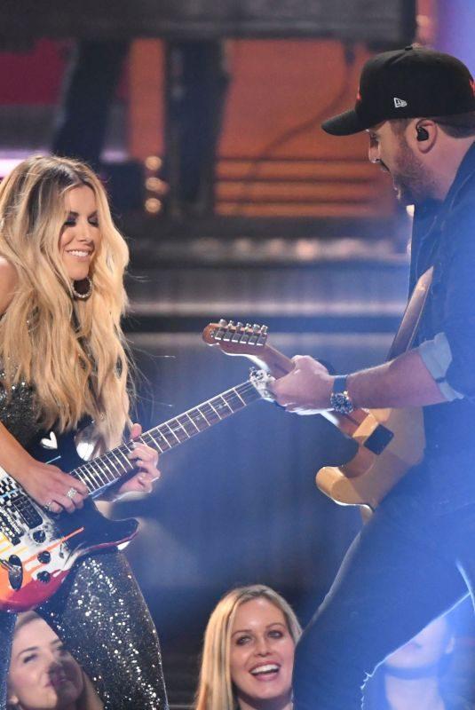 LINDSAY ELL Performs at 2018 CMA Awards in Nashville 11/14/2018