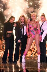 LITTLE MIX and NICKI MINAJ Performs at at MTV EMA