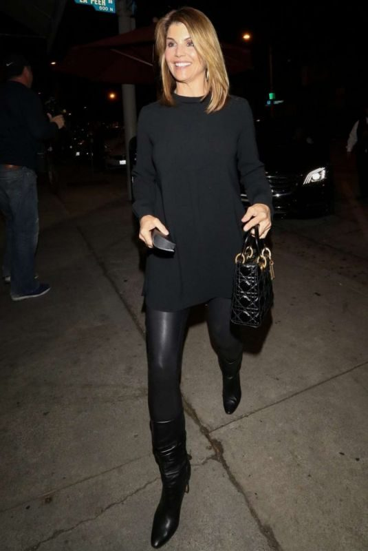 LORI LOUGHLIN at Craig's in West Hollywood 11/05/2018