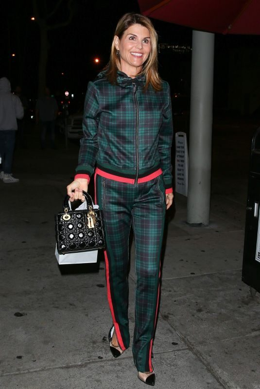 LORI LOUGHLIN at Craig's Restaurant in West Hollywood 11/20/2018