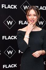LYDIA WILSON at Flack UKTV Premiere in London 11/13/2018