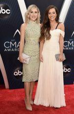 MADDIE & TAE at 2018 CMA Awards in Nashville 11/14/2018