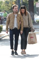 MANDY MOORE and Ryan Adams Out Shopping in Los Angeles 11/25/2018