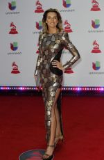MAR FLORES at 2018 Latin Grammy Awards in Las Vegas 11/15/2018