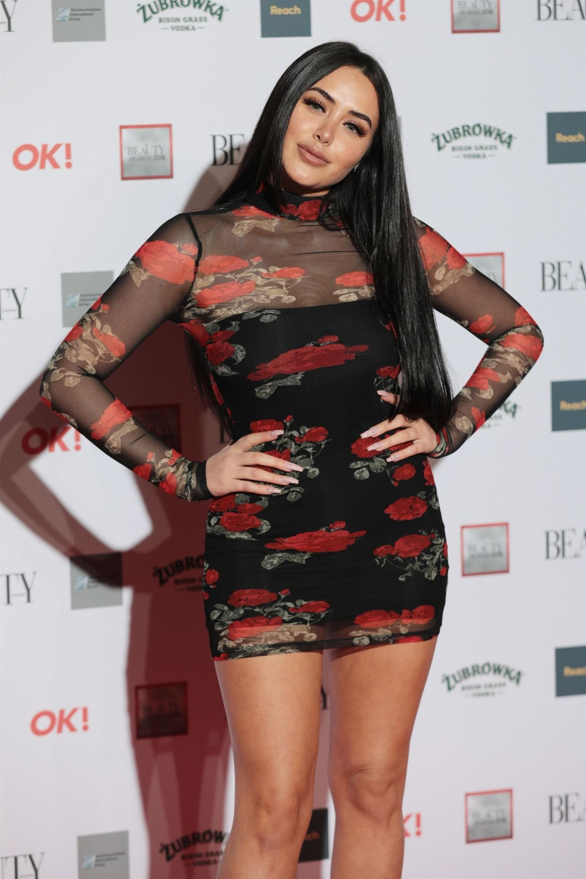 MARNIE SIMPSON at Beauty Awards 2018 in London 11/26/2018