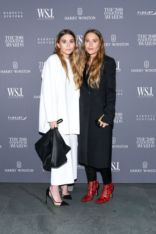MARY KATE and ASHLEY OLSEN at WSJ Magazine Innovator Awards in New York 11/07/2018