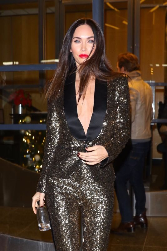 MEGAN FOX at Watch What Happens Live! in New York 11/29/2018