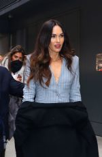 MEGAN FOX Leaves Today Show in New York 11/28/2018