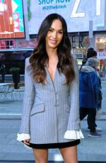 MEGAN FOX on the Set of Extra in New York 11/28/2018