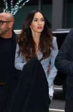 MEGAN FOX Out and About in New York 11/28/2018