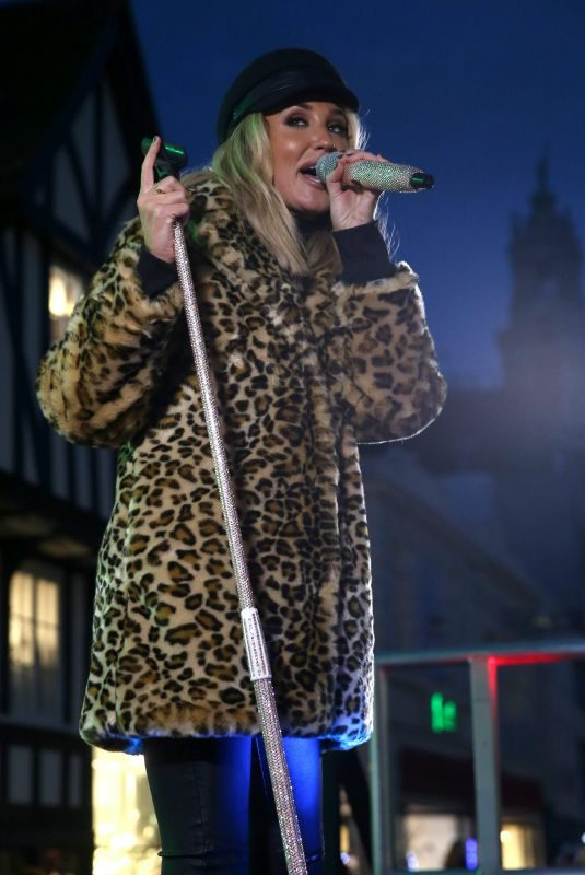 MEGAN MCKENNA Performs at Colchester Christmas Lights Switch 11/25/2018