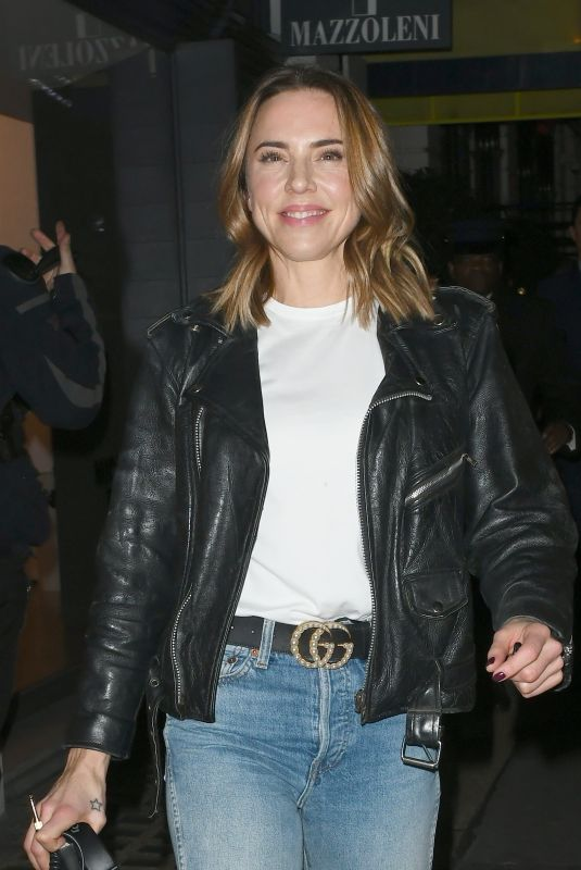 MELANIE CHISHOLM Night Out in London 11/23/2018