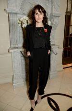 MICHELLE DOCKERY at Jenny Packham x Dita Von Teese Dinner in London 11/11/2018