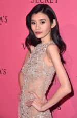 MING XI at VS Fashion Show Afterparty in New York 11/07/2018