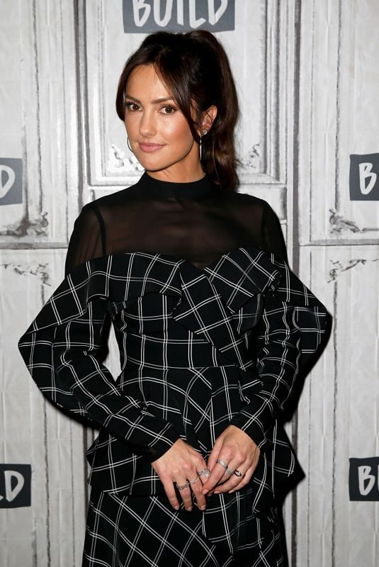 MINKA KELLY at Build Series in New York 11/01/2018
