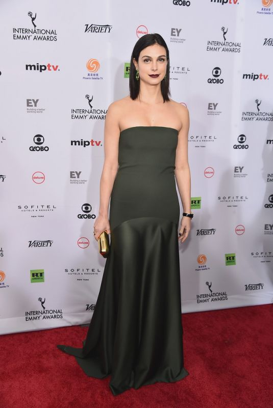 MORENA BACCARIN at 2018 International Emmy Awards in New York 11/19/2018