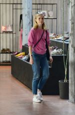 NICOLA PELTZ Shopping in West Hollywood 11/22/2018