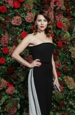 OPHELIA LOVIBOND at Evening Standard Theatre Awards 2018 in London 11/18/2018