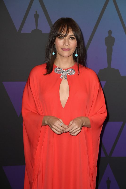 RASHIDA JONES at Governors Awards in Hollywood 11/18/2018