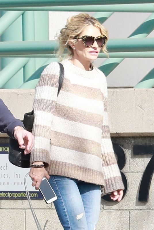 REBECCA GAYHEART Out and About in Studio City 11/17/2018